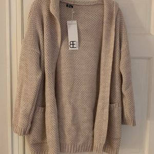 Oversized hooded sweater